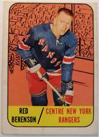 Red Berenson Topps #24 1967-68 New York Rangers