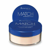 Rimmel London Match Perfection Silky Loose Face Powder, 001 Transparent, 10g