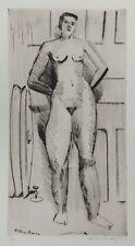 """MILTON AVERY """"STANDING NUDE"""" 1941 