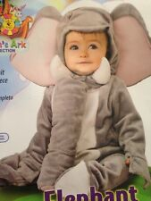 New Big Ear Elephant Costume  includes Jumpsuit And Headpiece 6-12 Months