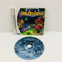 Fur Fighters Sega Dreamcast Video Game With Holographic Cover