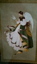 Lavender & Lace Angel of Grace Cross Stitch Pattern L & L 15 1991 170x273