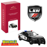 2020 Hallmark Classic American Cars 2019 Dodge Charger Police Pursuit Ornament