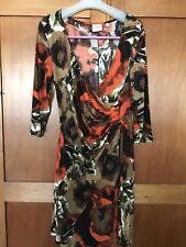 DESIGNER LEONA EDMISTON Floral dress size 16