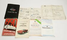 1990 CHEVROLET CORVETTE OWNERS MANUAL GUIDE V8 5.7L ZR-1 BASE COUPE CONVERTIBLE