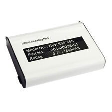 010-11143-00 361-00038-01 Battery Garmin Nuvi 500 Zumo 220 600 650 660 665 GPS