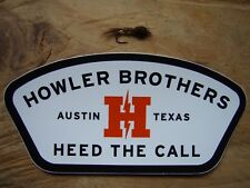 Howler Brothers Austin Texas sticker