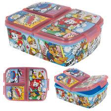 Paw Patrol Brotdose Lunchbox Sandwichbox Obstdose 3 Fächer Blau