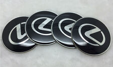OL65-B 4X Fit  most Lexus  WHEEL CAPs Alloy  EMBLEM Stickers 65mm NEW 3D