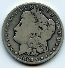 1882-CC Morgan Silver Dollar