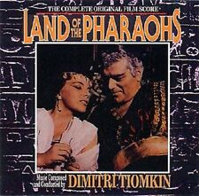 Land Of The Pharaohs - 2 x CD Complete - Limited Edition - OOP - Dimitri Tiomkin