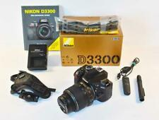 Nikon D3300 18-55mm VR - Boxed & Excellent LOW ACTUATIONS   EXTRAS