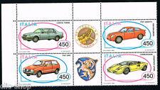 ITALIA UN BLOCCO DELLE AUTOMOBILISTICHE ITALIANE AUTO VEICOLI 1985 nuovo**