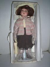 """Duck House """"Sara Lynn"""" Doll, Porcelain, 17"""", New In box"""