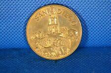 1969 San Diego 200th Anniversary Commemorative Medal Brass/Bronze