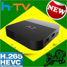 2018 Newest A2 TV BOX Well as HTV5 Portuguese Brazil Live TV IPTV Streamer