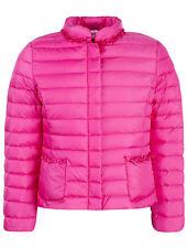 IL GUFO leichte Daunen Jacke in pink m. Rüschen a. d. Taschen* Gr.128-164 NEU%%%