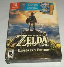 Factory Sealed Legend of Zelda: Breath of the Wild Explorer's video Switch GAME