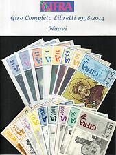 1998/2014 Collezione completa nr 17 Libretti Gifra Ravenna Nuovi