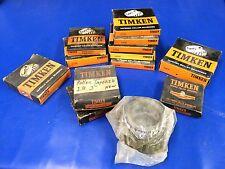 Timken Bearings Lot P/N 42368, 52618, 56425, 42584, 495-A, 394-A (0117-13)