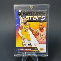 PANINI DONRUSS  Lebron James LOS ANGELES LAKERS INSERT - W/ CASE - INVESTMENT