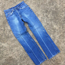 Vintage Levis 550 Orange Tab 70s Denim Distressed Worn Work Jeans Pants 31 33
