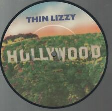 "THIN LIZZY   Rare 1981 UK Only 7"" OOP Rock Picture Disc Single ""Hollywood"""