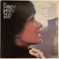 SHIRLEY BASSEY THE SINGLES ALBUM LP UNITED ARTISTS UK EX CONDITION
