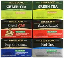 Bigelow Mixed Decaf Teas 120 Count Decaffeinated Individual Green Tea and Black