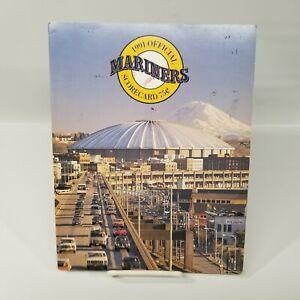 Unused 1991 Seattle Mariners vs Chicago White Sox Baseball Scorecard Program MLB