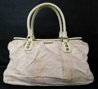 Auth Louis Vuitton Monogram Mini Lin Trapeze GM Hand Bag Pink M40064