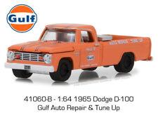 Greenlight 1:64 Running On Empty #6 1965 Dodge D-100 Gulf Auto Repair Tune Up