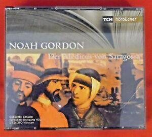 CD : Noah Gordon , Der Medicus von Saragossa ,TCM Hoerbuecher 74321948112 ,5 CDs