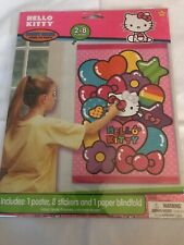 Hello Kitty PARTY GAME POSTER ~ Birthday Supplies Decorations Activity Pin The