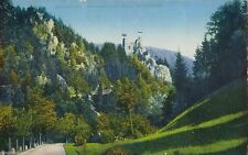 Zwischenkriegszeit (1918-39) Frankierte Ansichtskarten mit Burg & Schloss