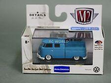 1/64 M2 Machines VW 1959 Double Cab Truck Volkswagen Bus Truck USA Model  #n2