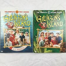GILLIGANS ISLAND Complete Season 1 & 2 on DVD First Second One Two