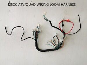 Electric Start Wiring Harness Loom 50cc 110cc 125cc QUAD DIRT BIKE ATV Buggy