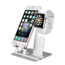 Charging Stand Holder Dock Station For Apple Watch iWatch iPhon Aluminum Charger
