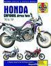 Honda CRF1000L Africa Twin 2016-2019 Haynes Motorcycle Repair Manual : H6434