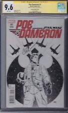 STAR WARS POE DAMERON #1 CGC 9.6 Cassady 1:200 Sketch Variant Cover Marvel SS