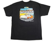 T Shirt AirSlamIt Black Xl, C10 1955 Chevy Hot Rod Apparel Short Sleeve Shirt