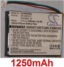 Batterie 1250mAh type 010-00621-10 361-00019-11 Pour Garmin Nuvi 255WT