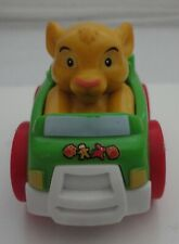 Fisher Price Little People DISNEY Wheelies Lino King Simba CHRISTMAS CAR
