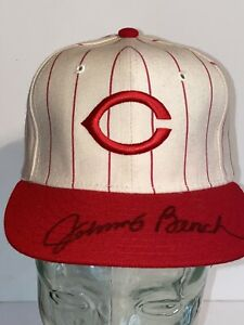 Johnny Bench Autographed Hat Signed PSA COA! Rare Cincinati Reds