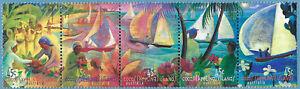 Cocos Keeling Islands 1999 Hari Raya Puasa Festival Strip MNH BAB286