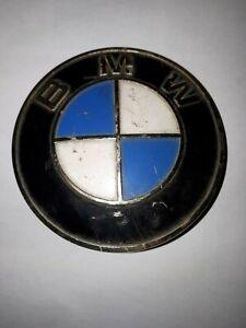 BMW 700 EMBLEM /PLAKETTE IN GOLD  82 mm FÜR VORNE GEBRAUCHT