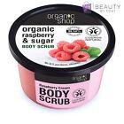 ORGANIC Sugar Body Scrub NATURAL Exfoliating PARABEN-FREE Anti-Cellulite 250ml