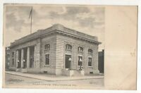 Post Office, NEW CASTLE PA Vintage 1909 Postcard