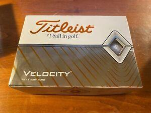 NEW Titleist Velocity Golf Balls - White (12 balls)